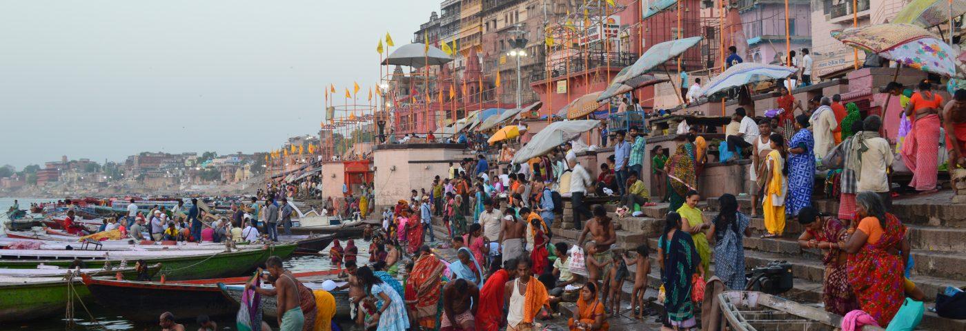 Varanasi (India), maravillosa y sorprendente.