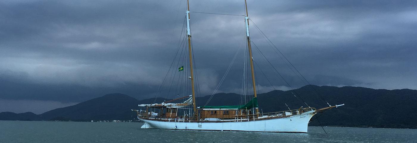Goleta Gringo, la aventura de viajar a Europa en barco.