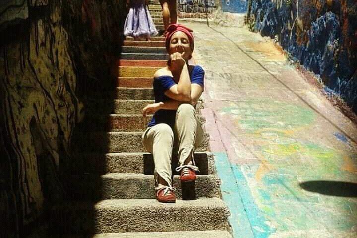 Viajar por Chile, con mi guitarra y mi voz.