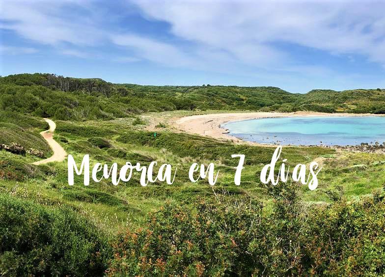 Menorca en 7 dias