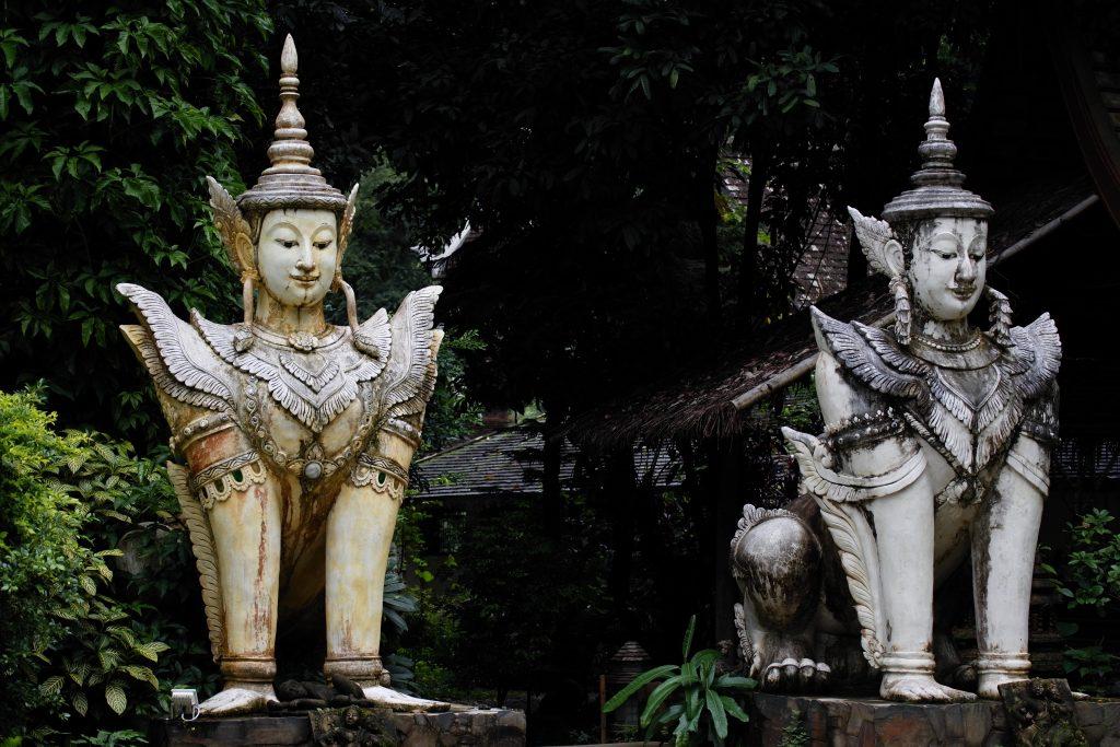 Entrada de Wat Pha Lat
